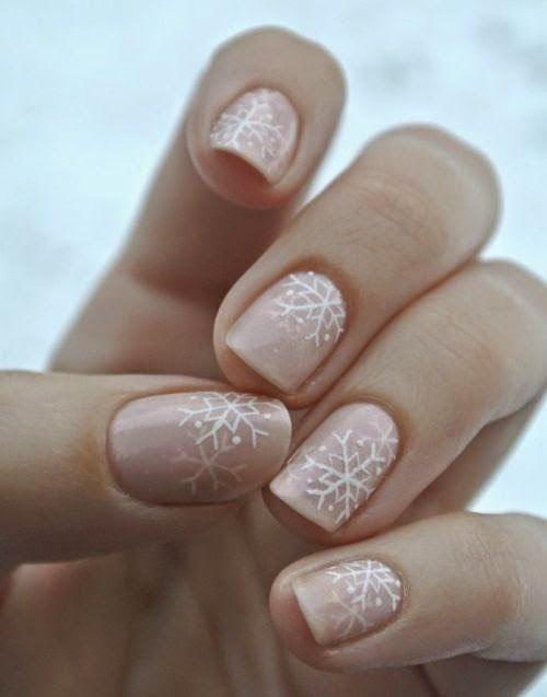 mykonos ticker: 25 Χριστουγεννιάτικα Σχέδια για τα Νύχια και οι τε...