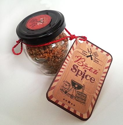Braai spice, designed as a gift for a man