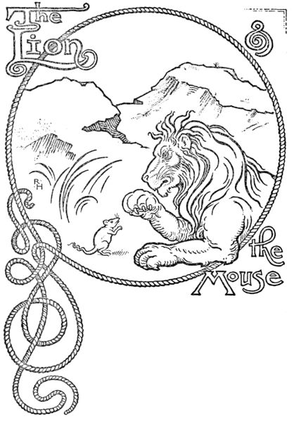 the lion and the mouse  aesop