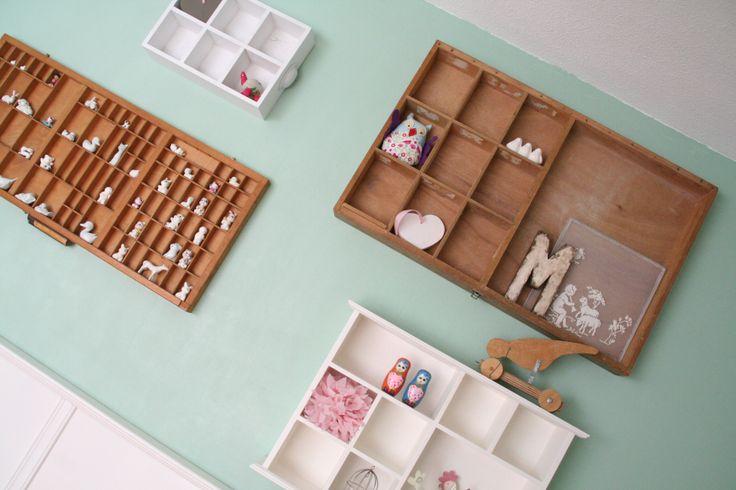 Kinderkamer in pastelkleuren. Styling en ontwerp Buro Flip   www.buroflip.nl