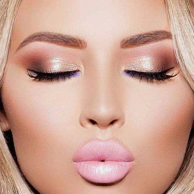 Best 25+ Rose Gold Makeup Ideas On Pinterest