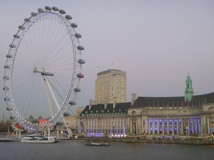 The London Eye  - Waterloo
