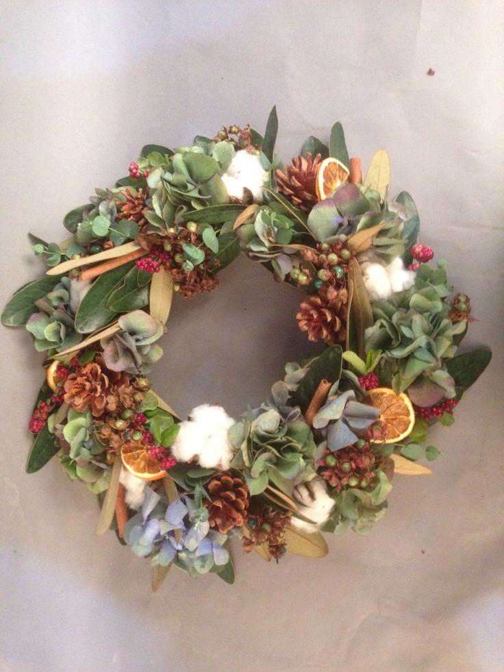 dry wreath