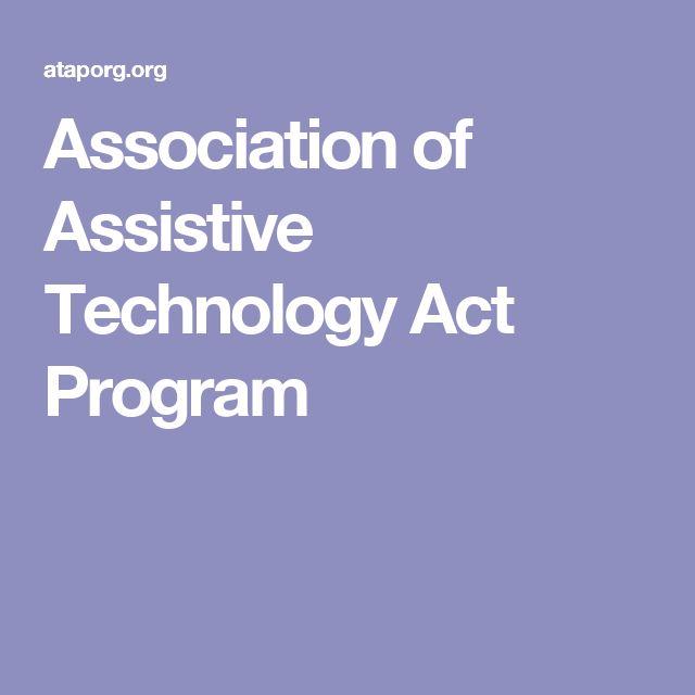 Association of Assistive Technology Act Program