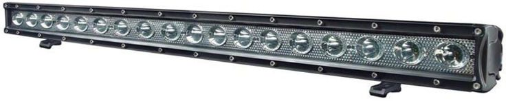 Light Bar LED Penong Series 120 Watt   Voltage: 10-30V DC  Waterproof rated: IP67  24*5w high intensity Cree LED`s  Luminous Flux: 10200lm  Length 39`` 990mm​  Colour temperature: 6000K  Housing Colour: black   Material: Die cast aluminium housing  Lens: PC  Beam type: Flood or Spot  Expected Life: 50000+ hours   Certification: CE RoHs IP67