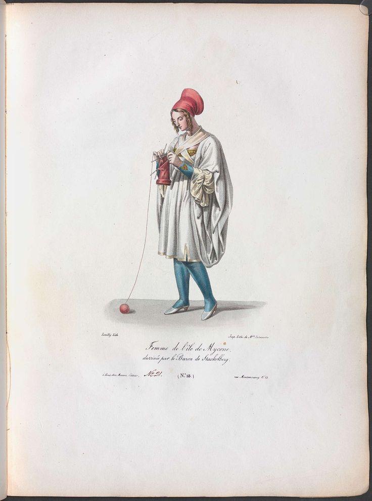 Stackelberg, Otto Magnus von:Costumes & Usages des Peuples de la Grèce Moderne Stackelberg, Otto Magnus von, ([ca. 1835])