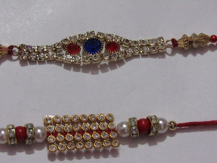#NKY Rakhi #Unique #Design #Rakhi Set Of 2 #Rakhi For #Brother With #Roli #Chawal #Rakshabandhan Special