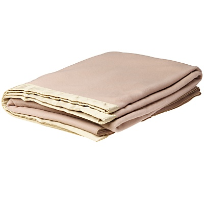 John Lewis Empress Blanket, Almond online at JohnLewis.com
