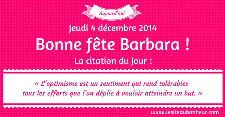 4 Décembre - Sainte Barbara ♥ Voyance Privée au 04.93.44.68.72 www.chantalemedium.com Avec le médium de votre choix au 01.72.76.09.38 (Offre Spéciale 10€/10min) FORUM VOYANCE GRATUITE 08.99.19.97.19 sans attente  ni CB  Audiotel France DOM-TOM 08.92.68.23.88  http://www.chantalemedium.com/horoscope/  Votre horoscope du mois et vos chiffres de chance http://www.chantalemedium.com/horoscope-du-mois-et-num%C3%A9ros-de-chance/ Facebook PRO Chantale Pure Médium Azur Astro Voyance Conseils…