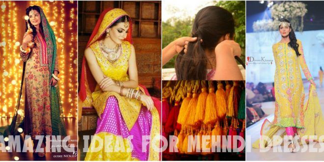 New Amazing Ideas for Mehndi Dresses for Couple
