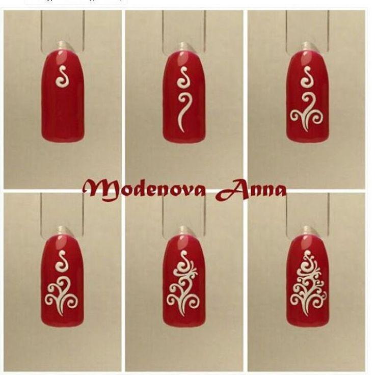 Modenova Anna Nails Tutorial                                                                                                                                                                                 More
