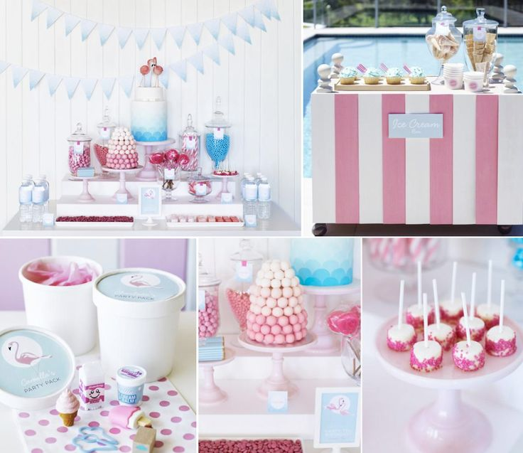 Retro Pink Flamingo Pool Party Some Cute Ideas In Here Apply A Simpler