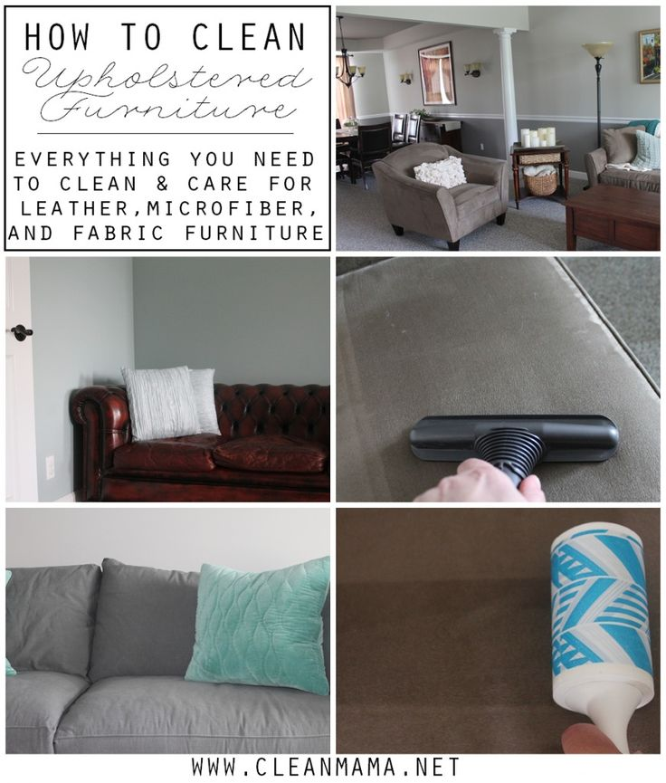 how to clean upholstered furniture with oxiclean