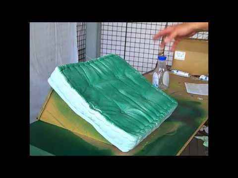 Visit www.FabricSprayPaint.com for more info and to purchase Simply Spray Fabric Spray Paint for your own projects. In this video, learn how to use Simply Sp...