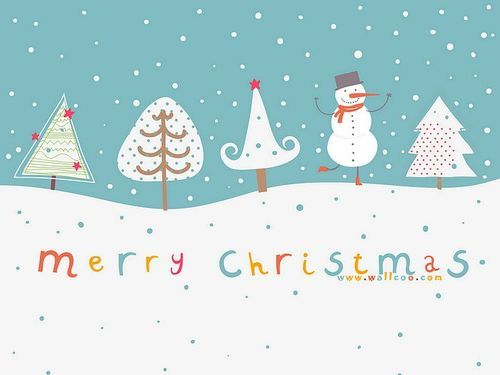 Cute_christmas_illustration_of_christmas_tree_and_snowman_large