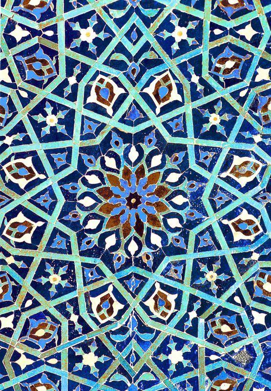 Persian tile work