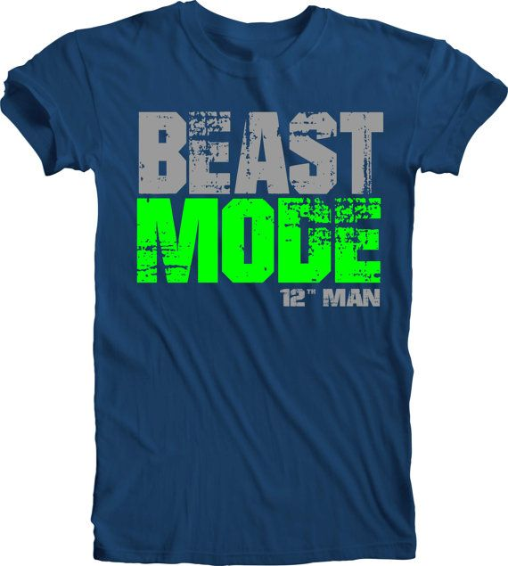 Beast mode t shirt nike for Custom dress shirts seattle