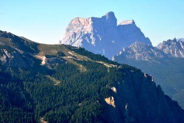 Monte Pelmo, San Vito di Cadore, visto dal Monte  Cristallo