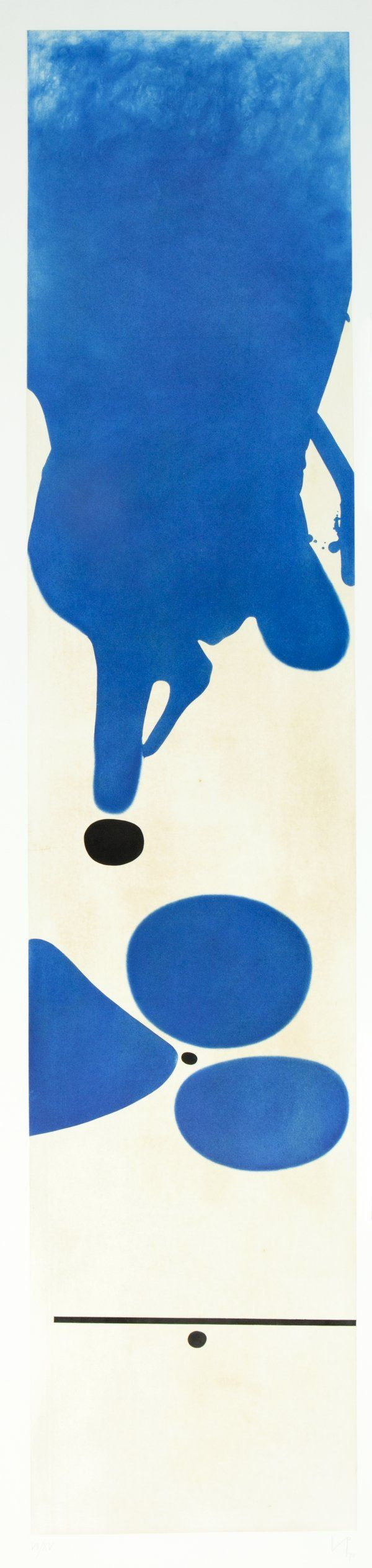 'Un Bel Di Vedremo' by Victor Pasmore 1978 (etching and aquatint on paper) James Kinmount Fine Art via Printed Editions