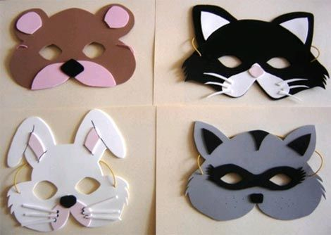 Caretas animalesIdeas For, Rubber, Mascaras Y Caretas, Goma Evafoami, Caretas Con, For, Carnival, Animal Masks