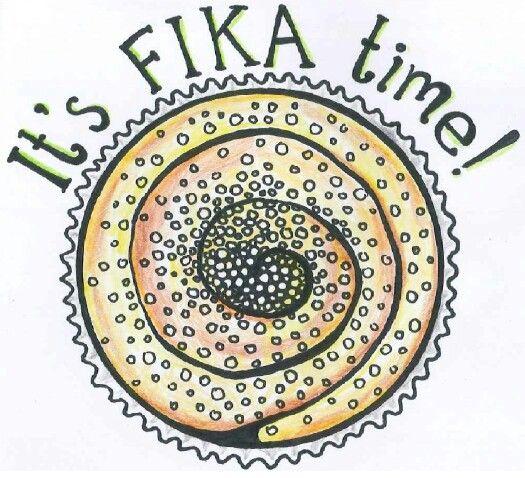 Fika drawing
