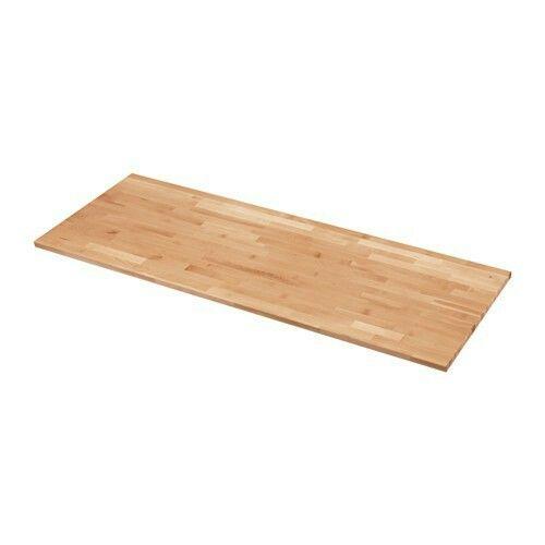 129 for 74 length ikea solid beech butcher block countertop kitchen wood countertops. Black Bedroom Furniture Sets. Home Design Ideas