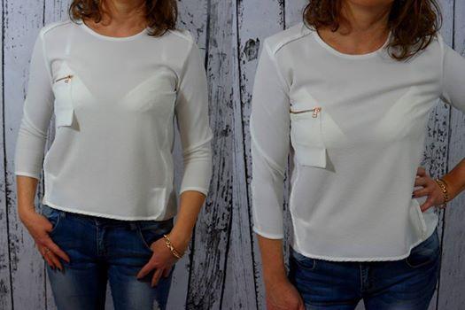 Elegancka biała bluzka to idealna propozycja na Święta, a także na imprezę sylwestrową, uroczystą kolację czy zimowe spotkanie ze znajomymi. Dostępna w rozmiarach: - 36 - http://allegro.pl/era-mody-elegancka-bluzka-ozdobna-kieszen-biel-36-i4882945395.html - 38 - http://allegro.pl/era-mody-elegancka-bluzka-ozdobna-kieszen-biel-38-i4882951339.html