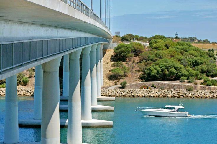 Dawesville Bridge Mandurah Western Australia