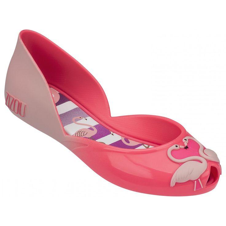 Kids Zizou Ballerina Pink Flamingo