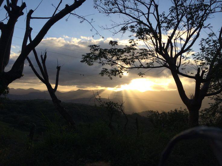 Sunset, Matagalpa Region, Nicaragua