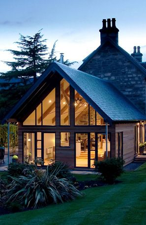 Craigatin House, Pitlochry Bed and Breakfast - fabulous extension