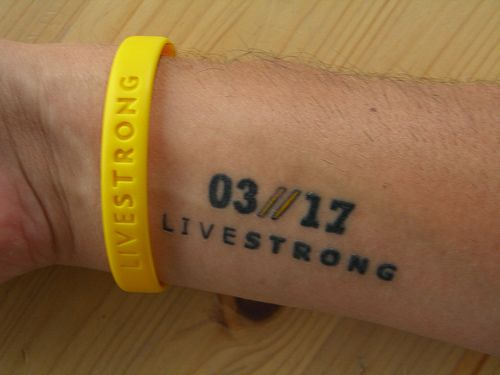 Livestrong Tattoo by thebman69, via Flickr