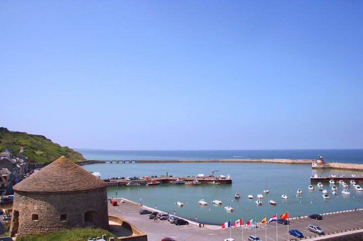 La cote Normande : Port en bessin www.martinaa.fr