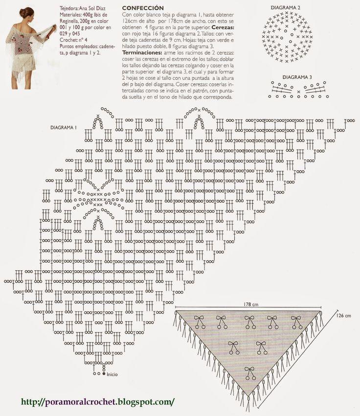 20 best Por Amor Al Crochet images on Pinterest | Ganchillo, Patrón ...