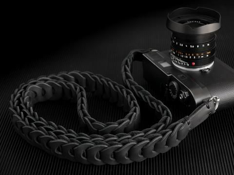 Rock n Roll , Black is Black - Tie Her Up camera straps - 1