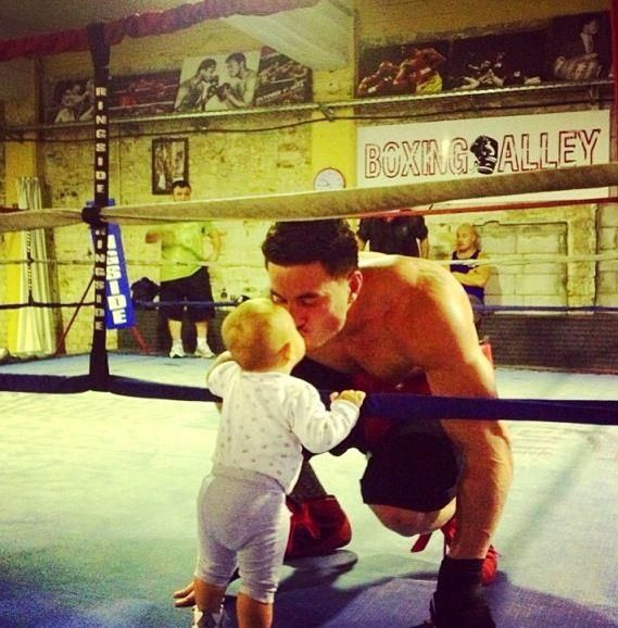 Sonny Bill Williams - Boxer / All Blacks Rugby Player / Rugby League at The Boxing Alley gym.