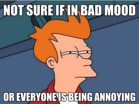 Not sure...: Annoying People, Sometimes I Wonder, My Life, Even, Bad Mood, I Can Relate, Totally Me, True Stories, Haha So True