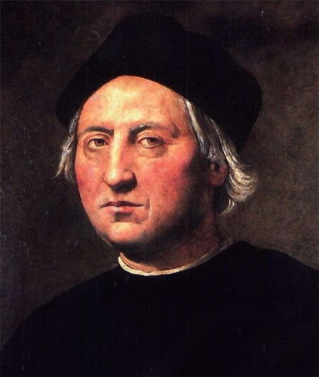 Christopher Columbus (unknown; before 31 October 1451 – 20 May 1506) was an explorer, colonizer, and navigator, born in the Republic of Genoa, in what is today northwestern Italy.[2][3][4][5] Under the auspices of the Catholic Monarchs of Spain, he completed four voyages across the Atlantic Ocean that led to general European awareness of the American continents in the Western Hemisphere. Those voyages, and his efforts to establish permanent settlements in the island of Hispaniola.