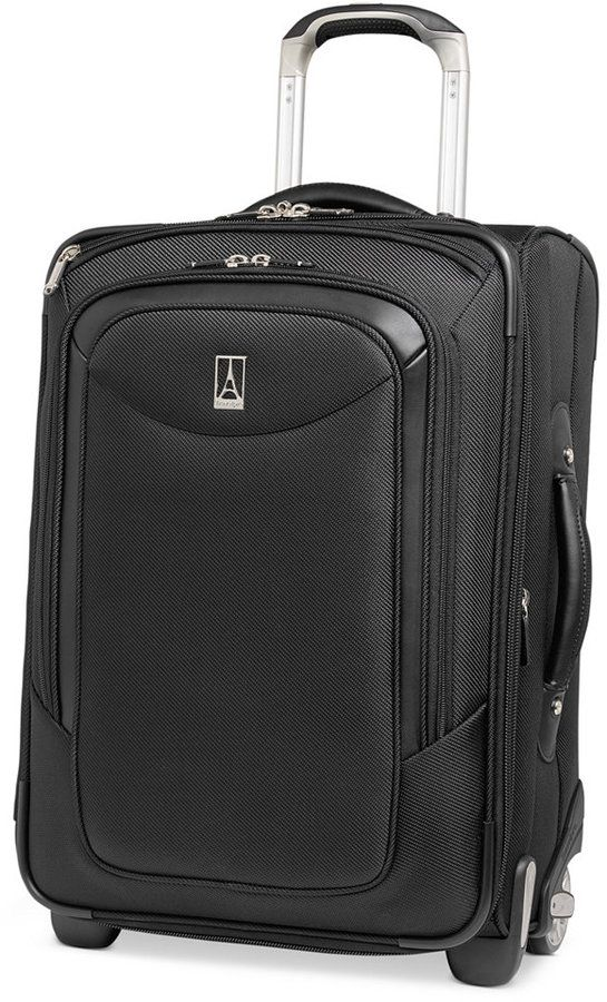 "Travelpro Closeout! Platinum Magna 20"" Business Plus Rolling Carry On Expandable Suitcase"