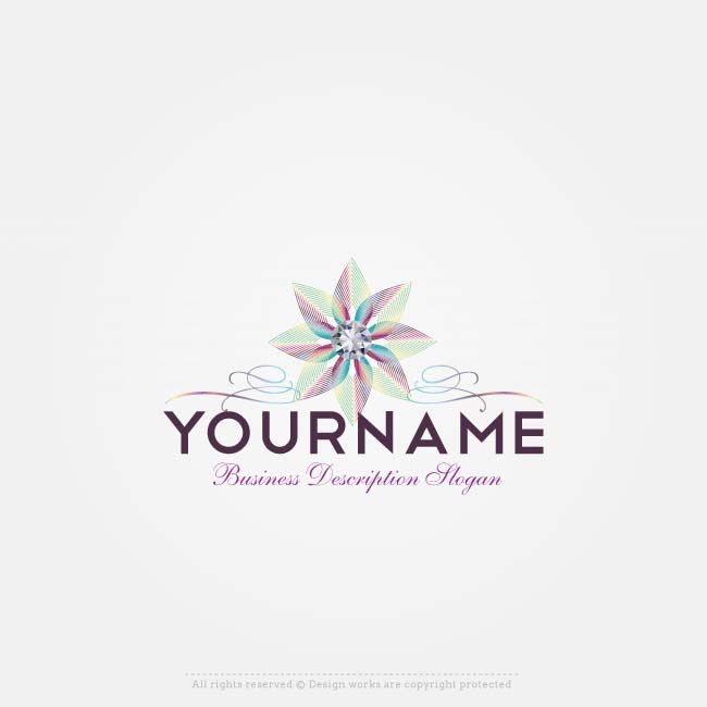 Create a Flower Logo Template with our Free Logo Creator.