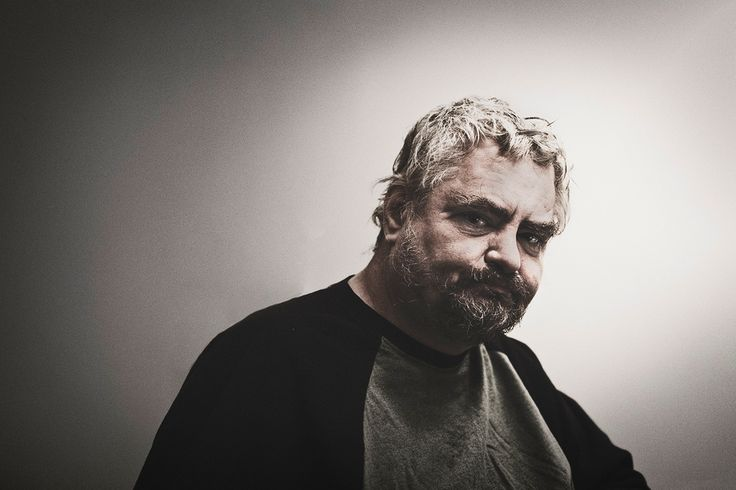 "Daniel Johnston - photo Peter Juhl  ""There was this Big Guy And He had a great idea He built Himself a world And He put people on it""  A Little Story"