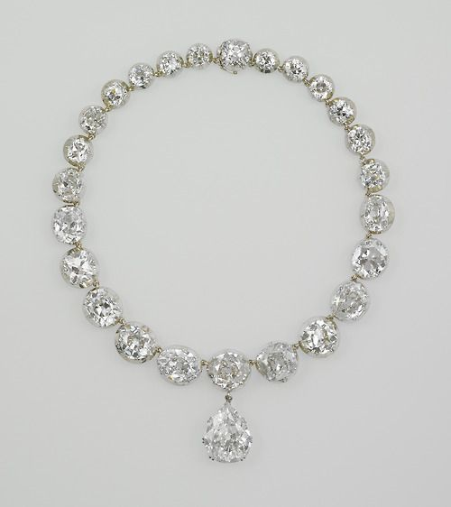 The Coronation Necklace: worn by every British Queen since Queen Victoria.
