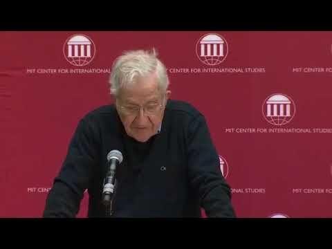 Noam Chomsky (January 13, 2018) - Racing To The Precipice Prof Noam Chomsky - YouTube