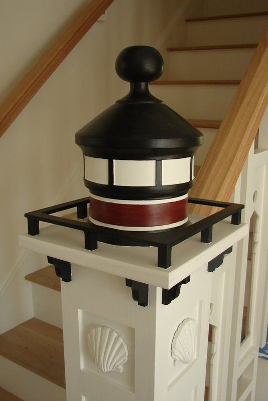Best Lighthouse Newel Post And Stair Of Cape Cod Massachusetts 640 x 480
