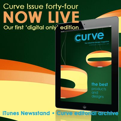 For over 12 years, Curve has published stunning design stories from around the globe, bringing you direct insight into why amazing everyday products were designed and how they improve your day-to-day life.  To introduce our new editorial format, we now bring you the best products and designs from the past 12 years in a special collector's edition. It's available for iPad via https://itunes.apple.com/us/app/curve/id548230478?ls=1&mt=8 and is included in all Curve subscription packages.