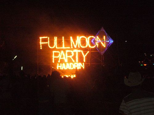Go to the Full Moon Party in Thailand - Don't care if my parents did it first.