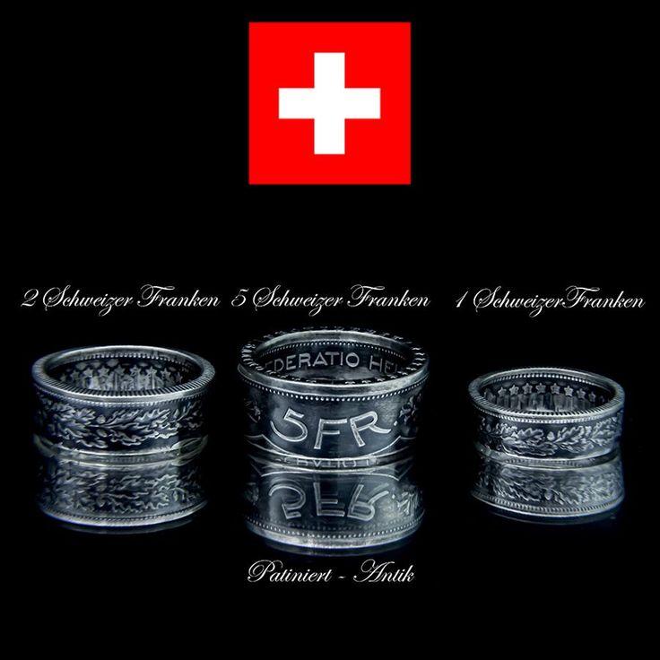 Coin Rings created from Swiss franc – Antique Münzringe aus Schweizer Franken - Antik кольца из швейцарских франков - aнтичный  #love #photooftheday #art #style #coin #coinring #coinrings #silver #jewelry #coin #antique #ring #accessoires #antik #switzerland #swiss #schweiz #münzringe# schmuck #колье #ювелирный #стиль #фасон #мода