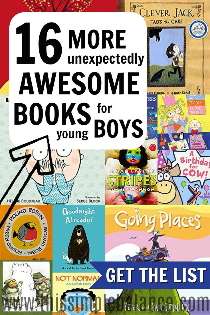 Do you love reading to your young boys but have a hard time choosing books they will really love? These 16 books are books my boys asked for OVER and OVER again. They loved these books! Plus, you can get a convenient, printable list to take with you to the library. Don't waste your time on mediocre books when you can be reading great ones you KNOW your boys will love.