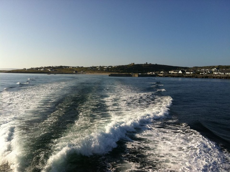From Aran Islands Walks...fab photo departing Inis Oírr