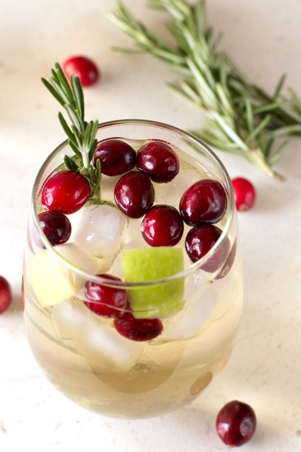 Christmas Sangria is the perfect drink filled with all the holiday flavors you know and love!